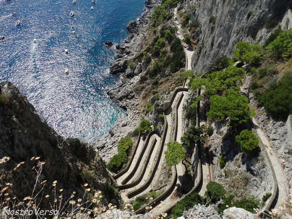 Via Krupp, em Capri