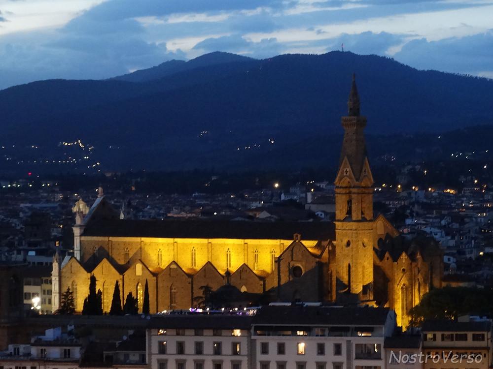 Basilica di Santa Croce à noite