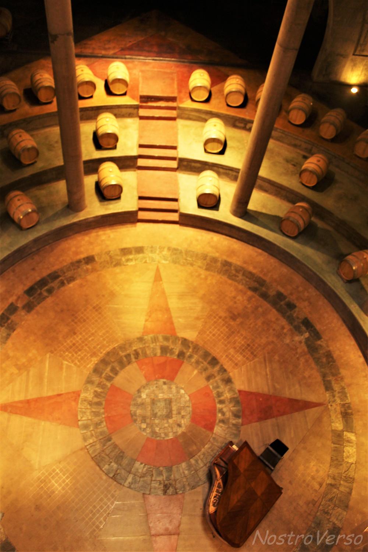 """Catedral do vinho"" na Bodega Salentein"