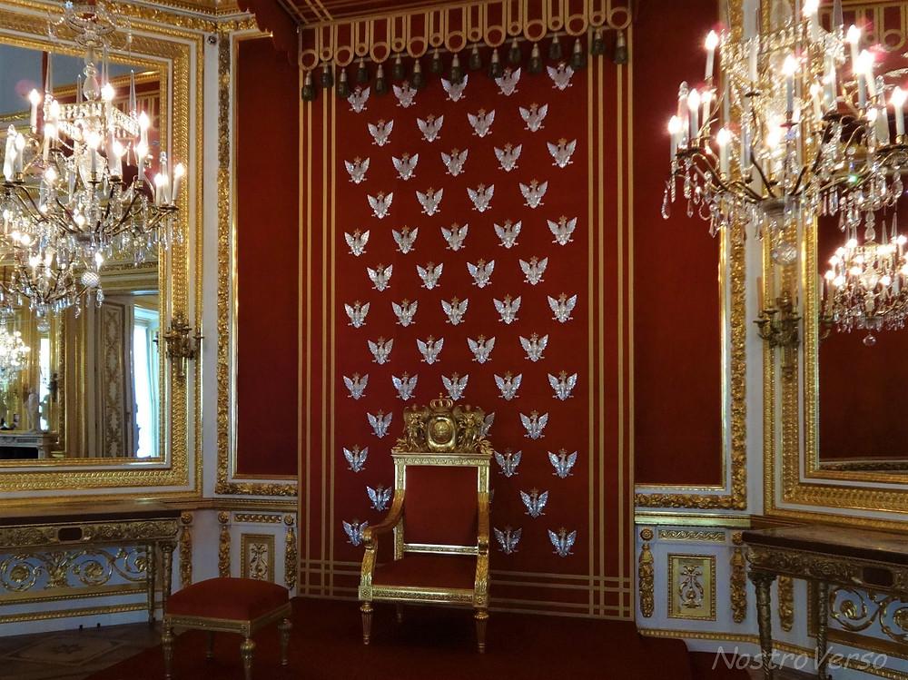 Interior do Castelo Real de Varsóvia