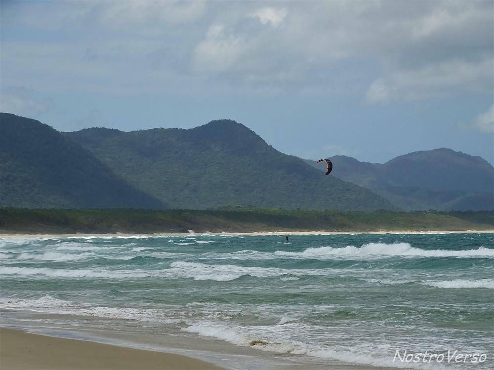Kitesurf na Barra da Lagoa
