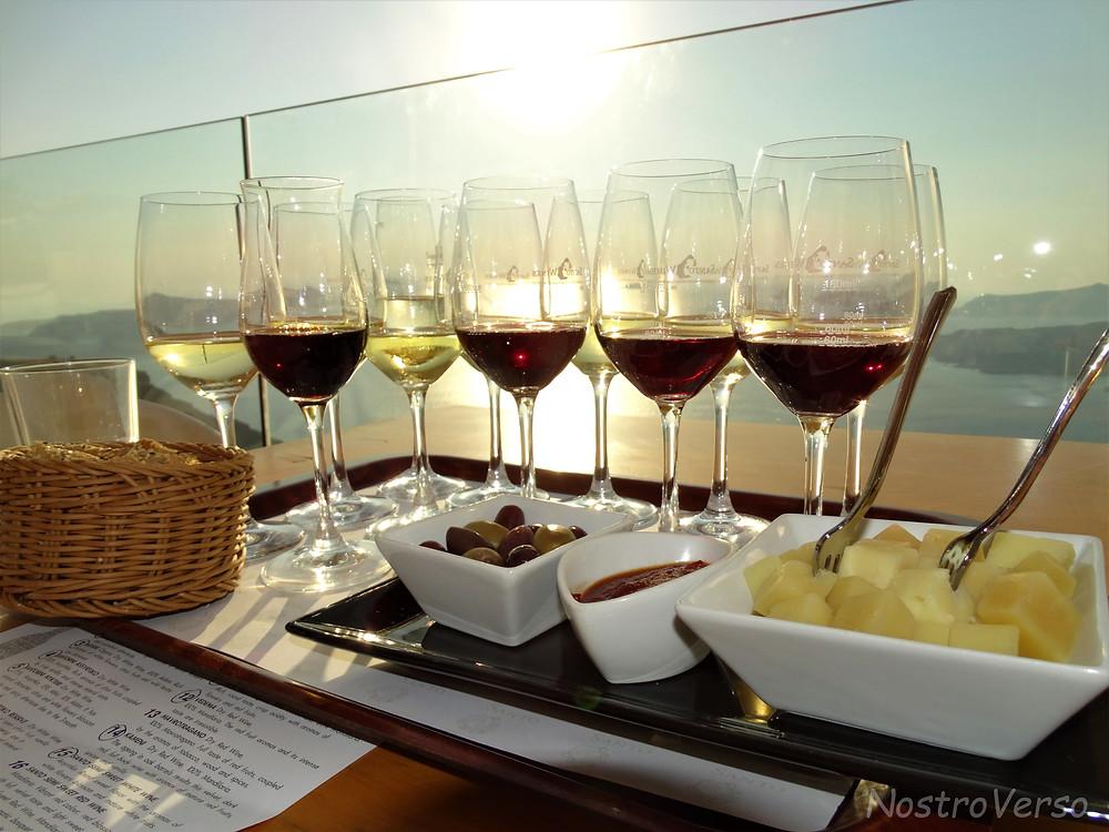 Degustação na Santo Wine