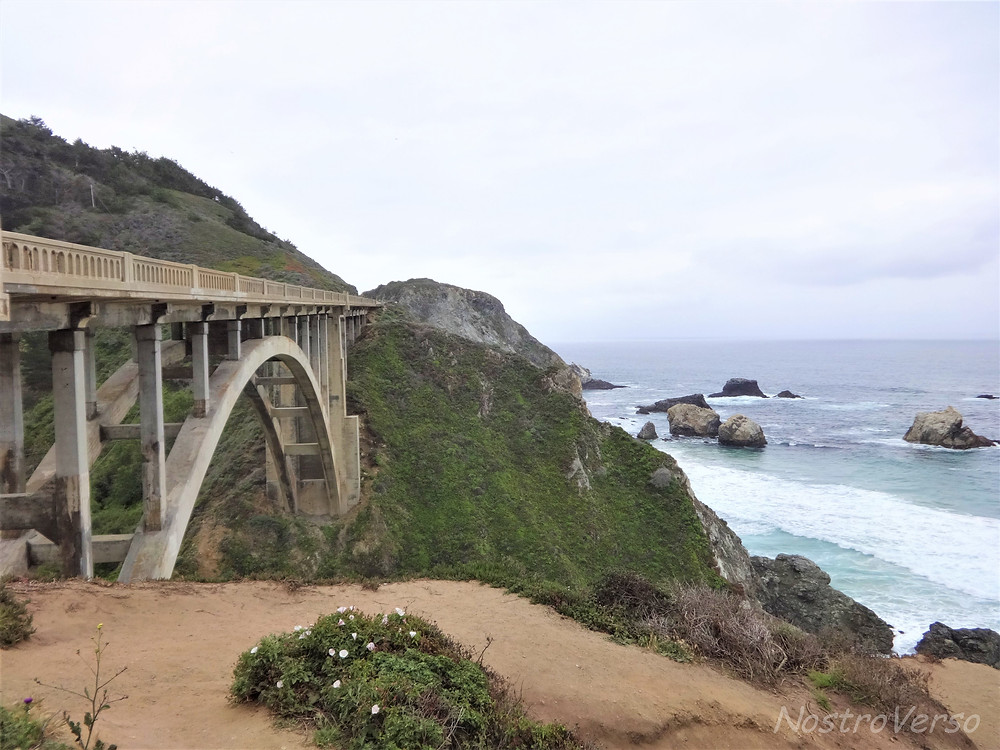 Rocky Creek Bridge - Big Sur - Rota 1