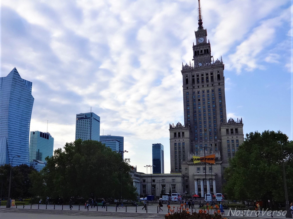 Centro de Varsóvia - Capital da Polônia