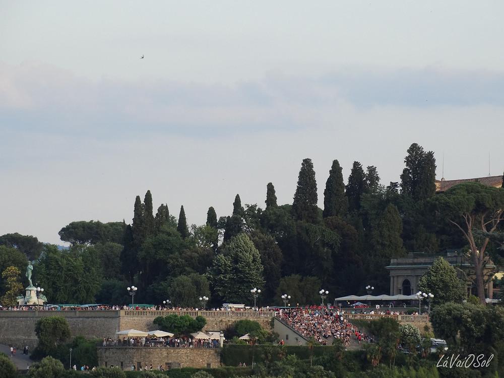 Piazzale Michelangelo vista do Palazzo Vecchio