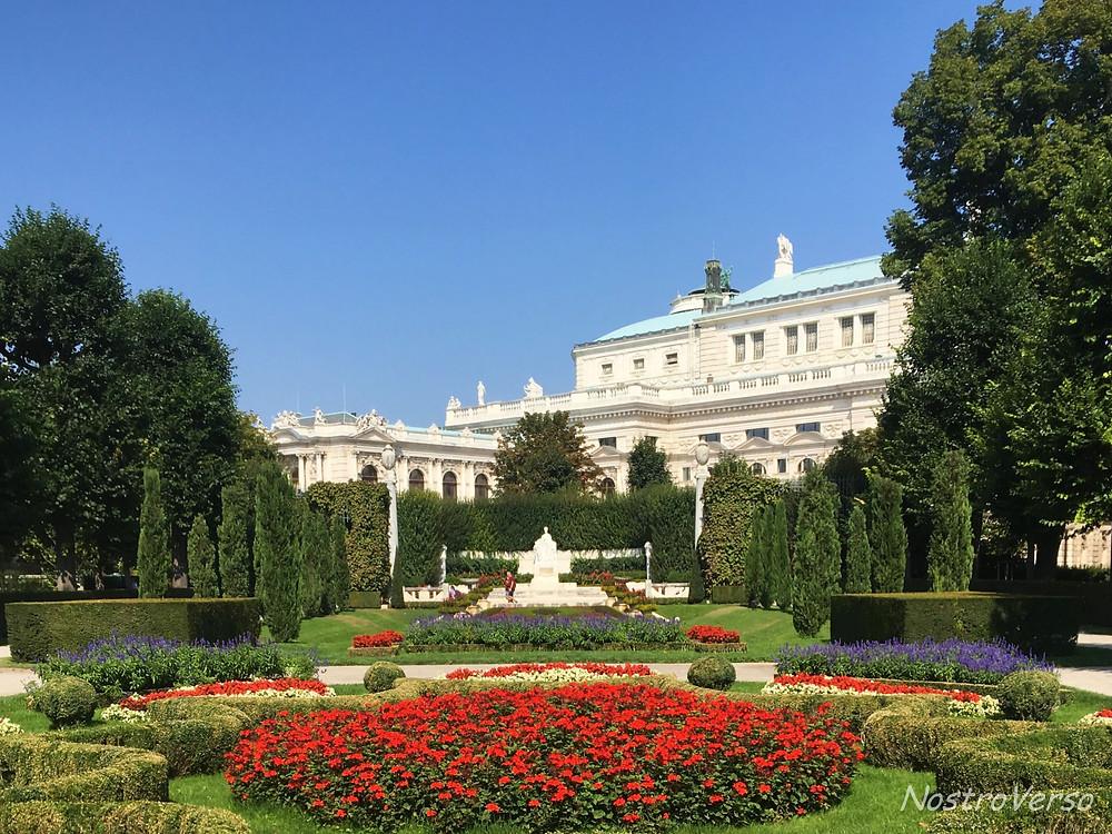 Volksgarten em Viena - Áustria
