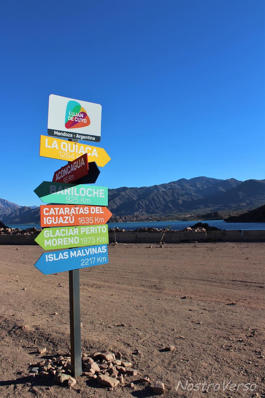 O caminho da Cordilheira dos Andes