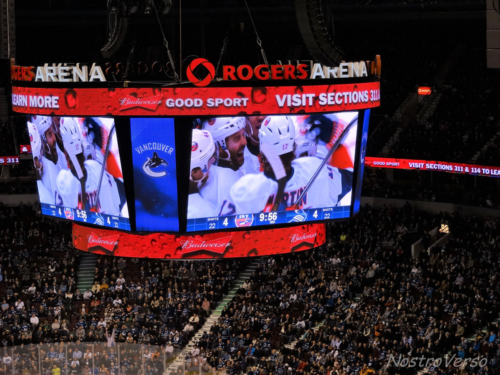 Hockey game - Vancouver