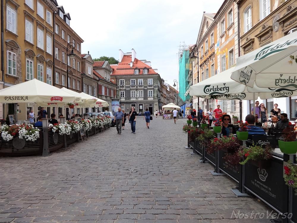 Restaurantes no centro histórico de Varsóvia