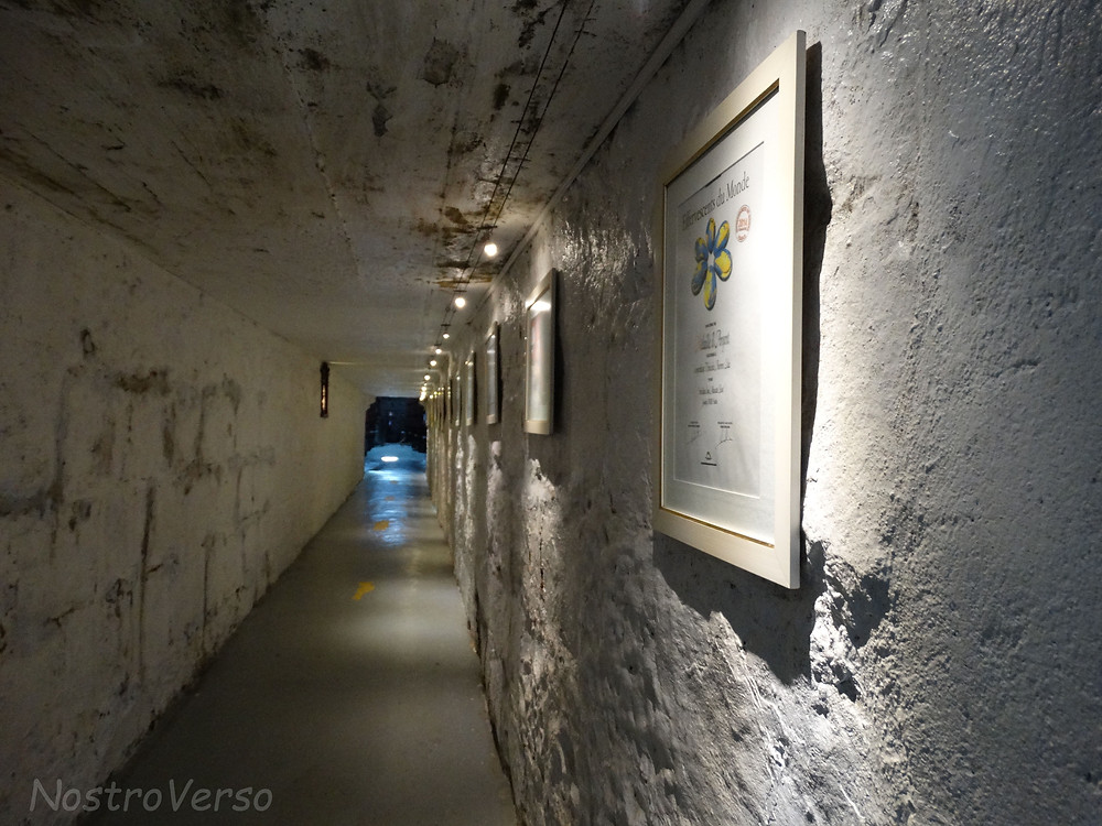 Túnel da Vinícola Aurora
