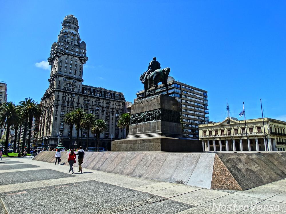 Plaza Independencia em Montevideu