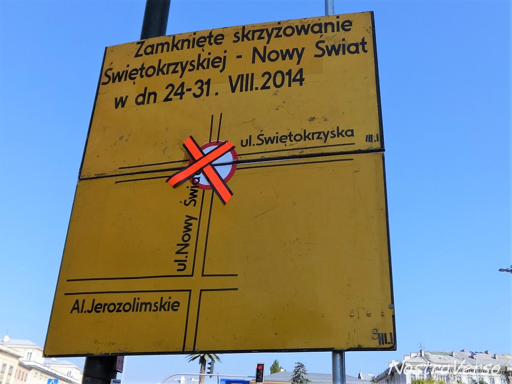 Placas de trânsito na Polônia