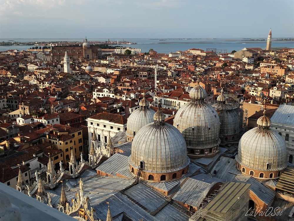Vista do Campanile di San Marco - Veneza