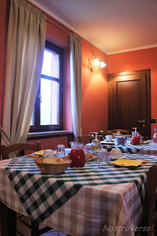 Café-da-manhã no Agriturismo Al Brich
