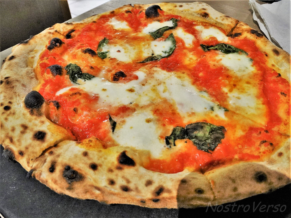 Pizza do Mercato Centrale de Florença