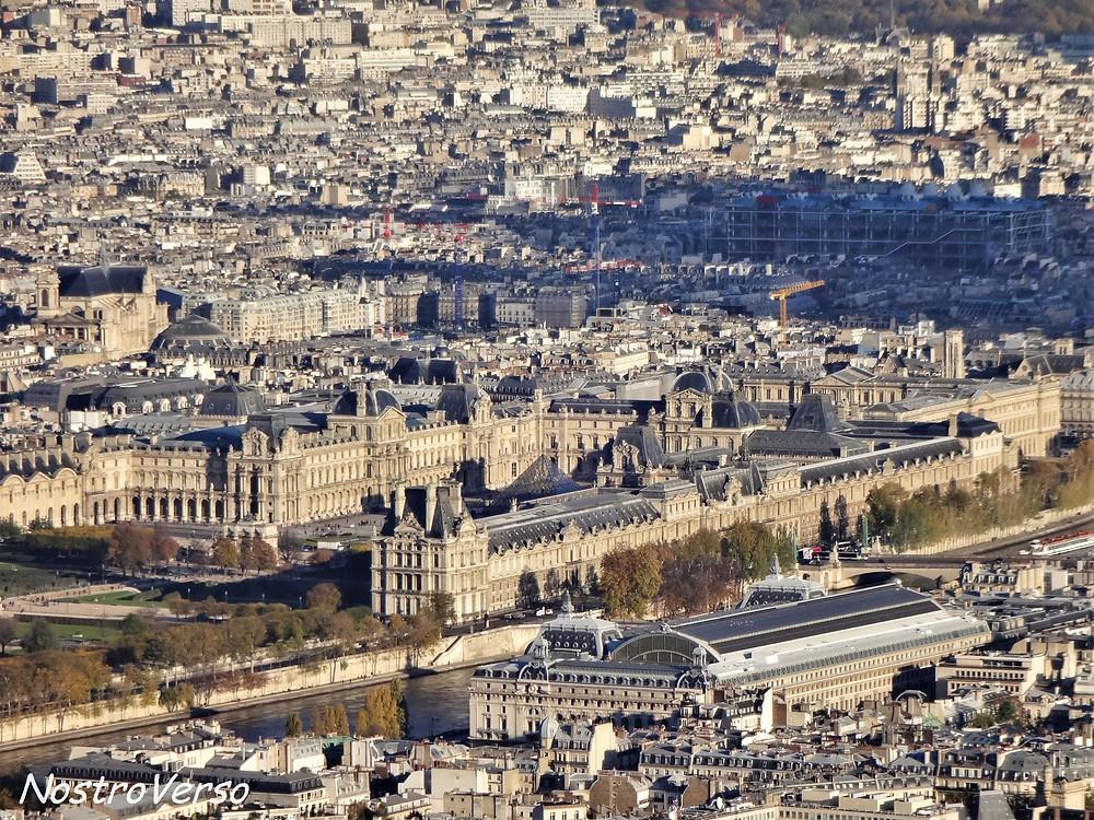 Louvre visto da Torre Eiffel