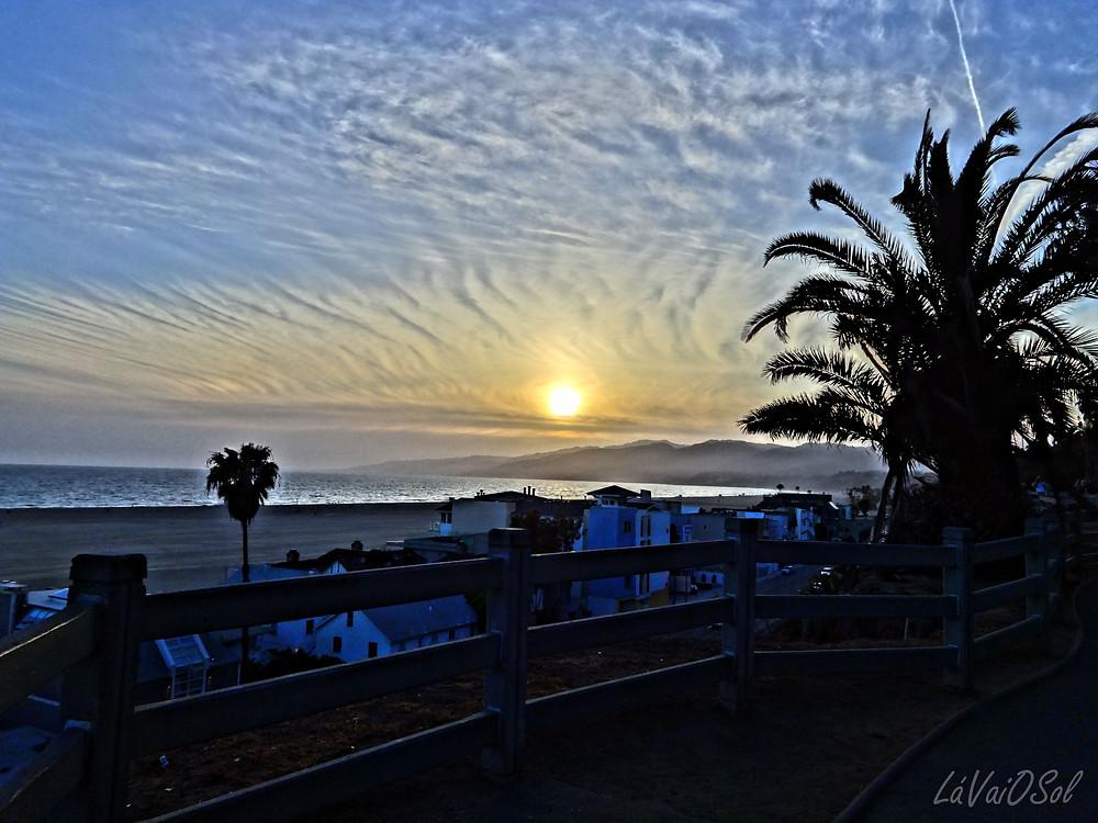 Fim da tarde em Santa Monica - Califórnia