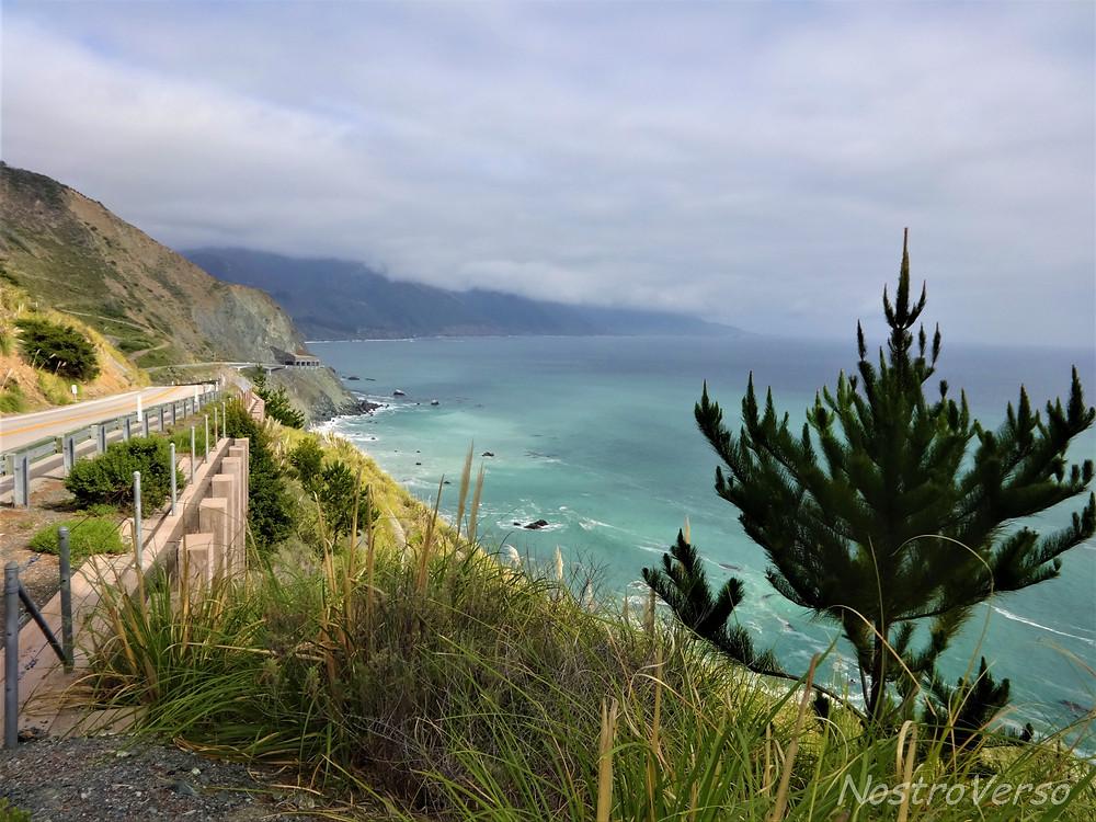 Rota 1 - Big Sur - Oceano Pacífico