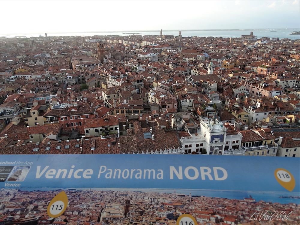 Veneza vista do Campanile di San Marco