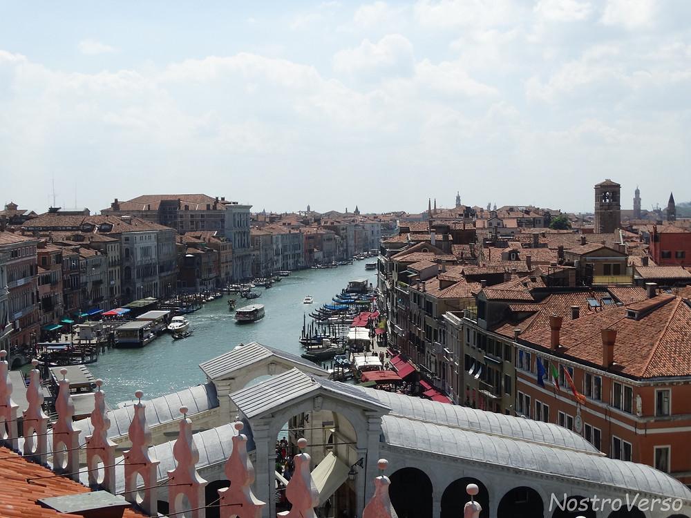 Vista de Veneza do Fondaco dei Tedeschi