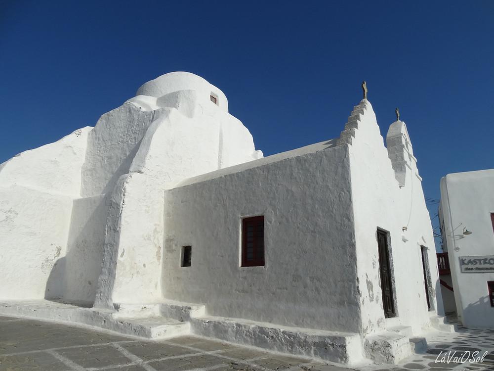 Igreja em Míconos - Grécia
