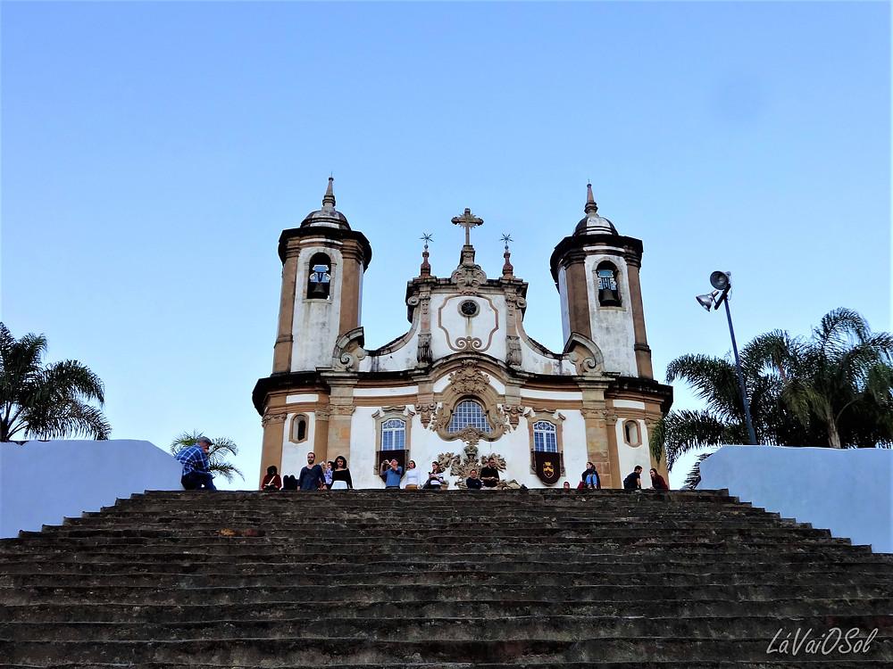 Igreja Nossa Senhora do Carmo em Ouro Preto - Minas Gerais