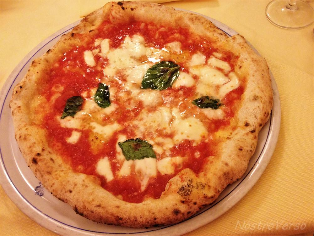 A verdadeira pizza Margherita