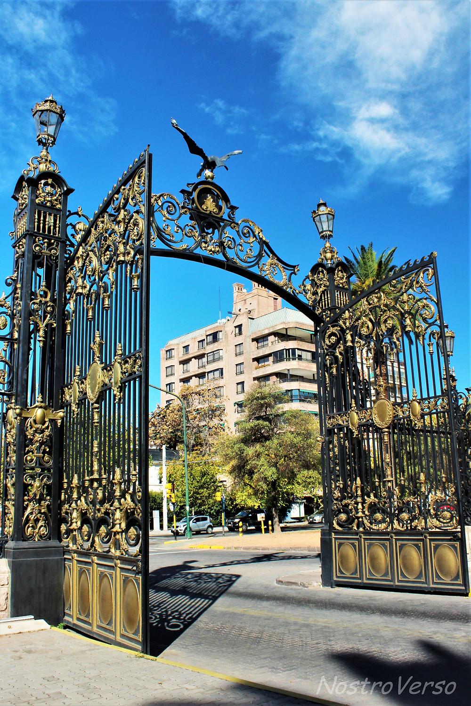 Portão do Parque General San Martín