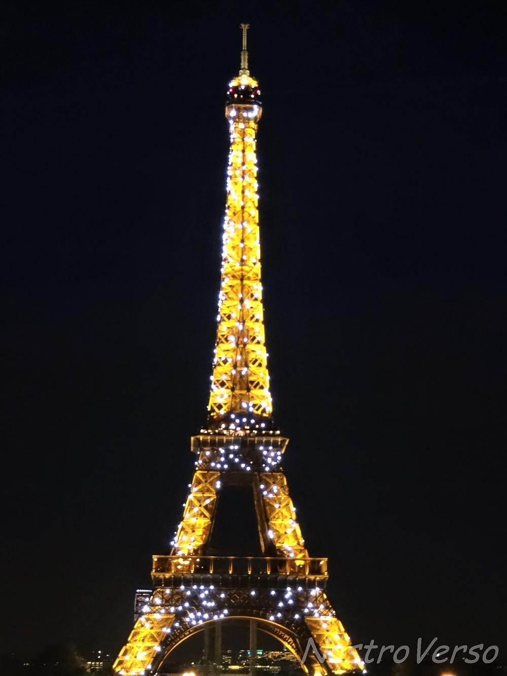 Torre Eiffel piscando!