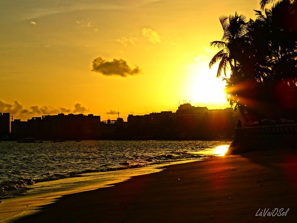 Pôr-do-sol em Maceió - Alagoas