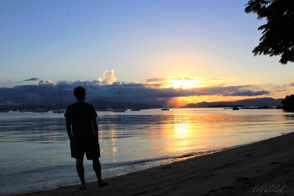 Pôr-do-sol em Santo Antônio de Lisboa - Florianópolis
