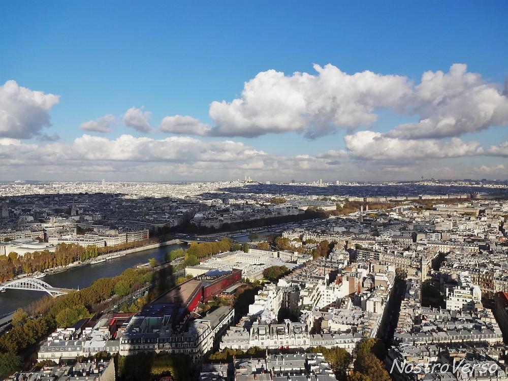 Sombra da Torre Eiffel