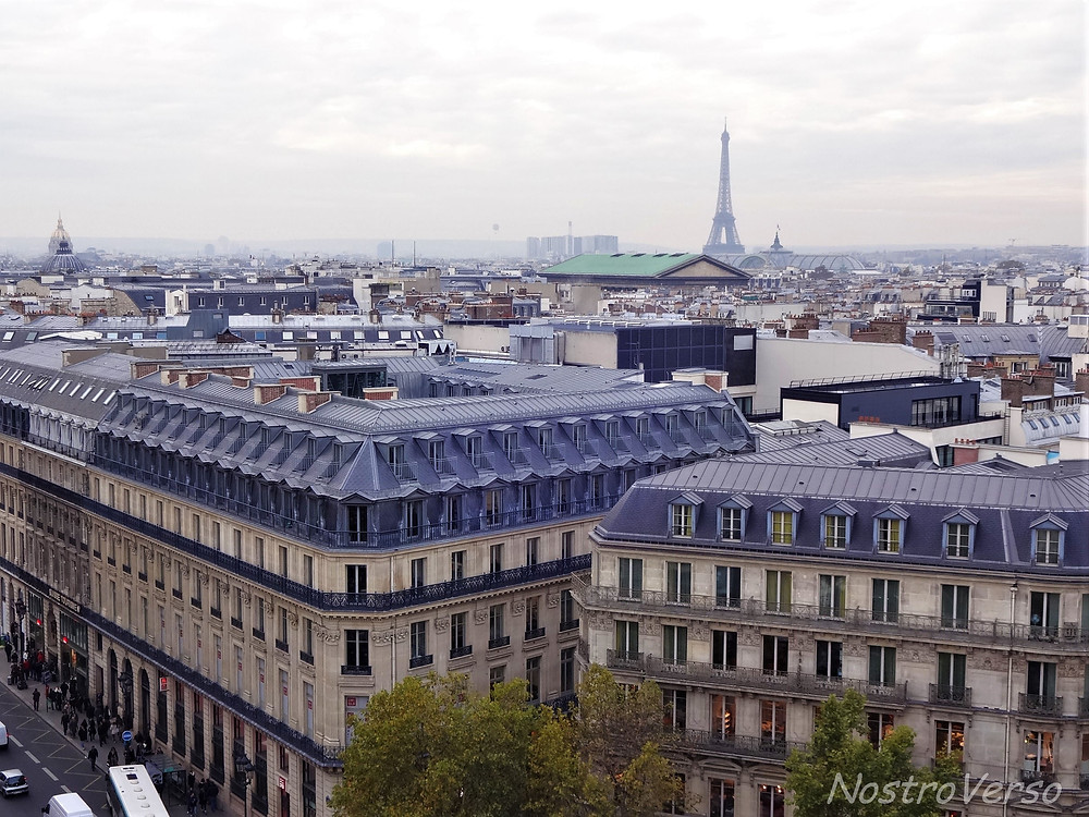 Vista de Paris da Galeria Lafayette