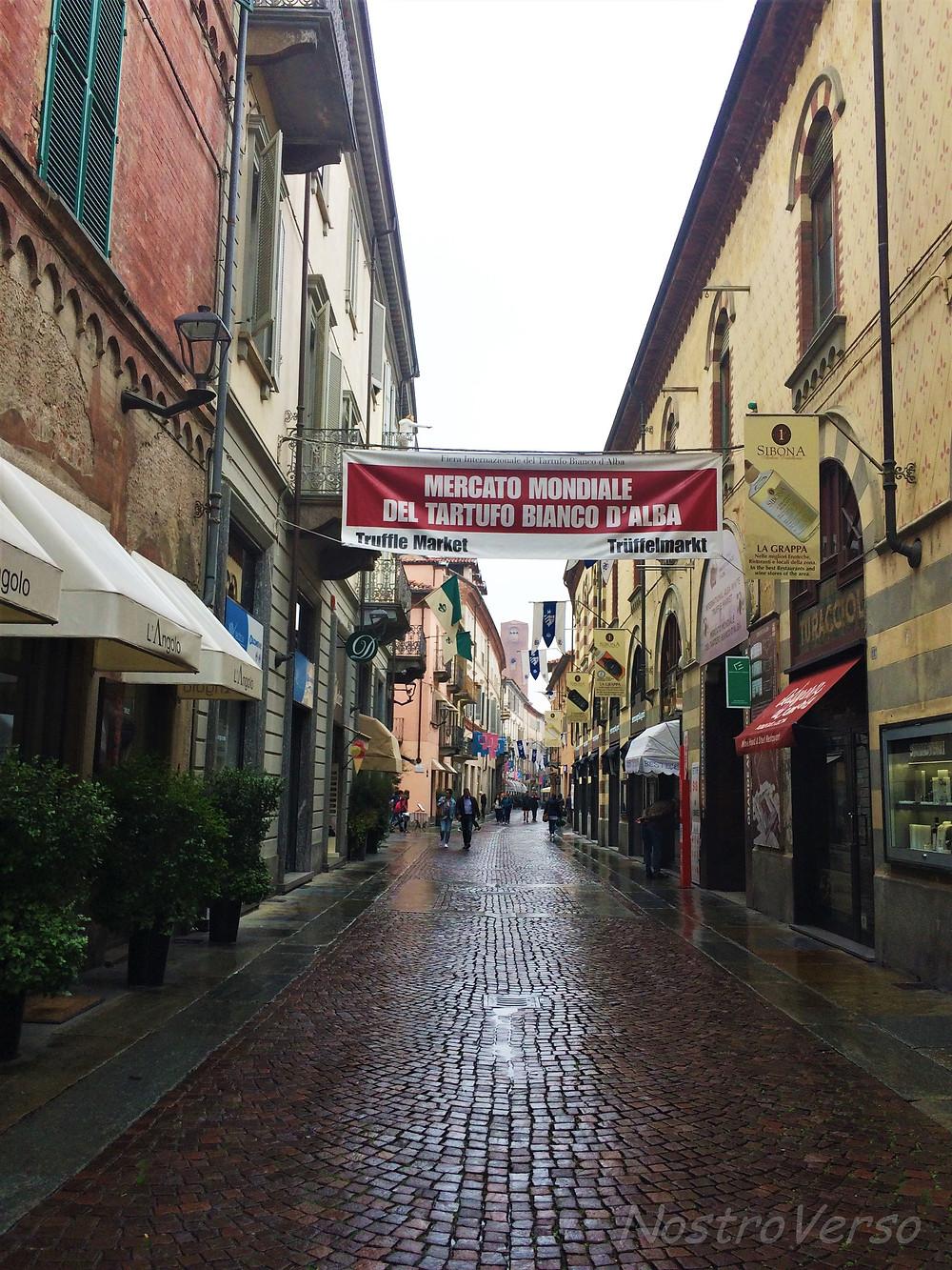 Feira de trufas em Alba - Piemonte
