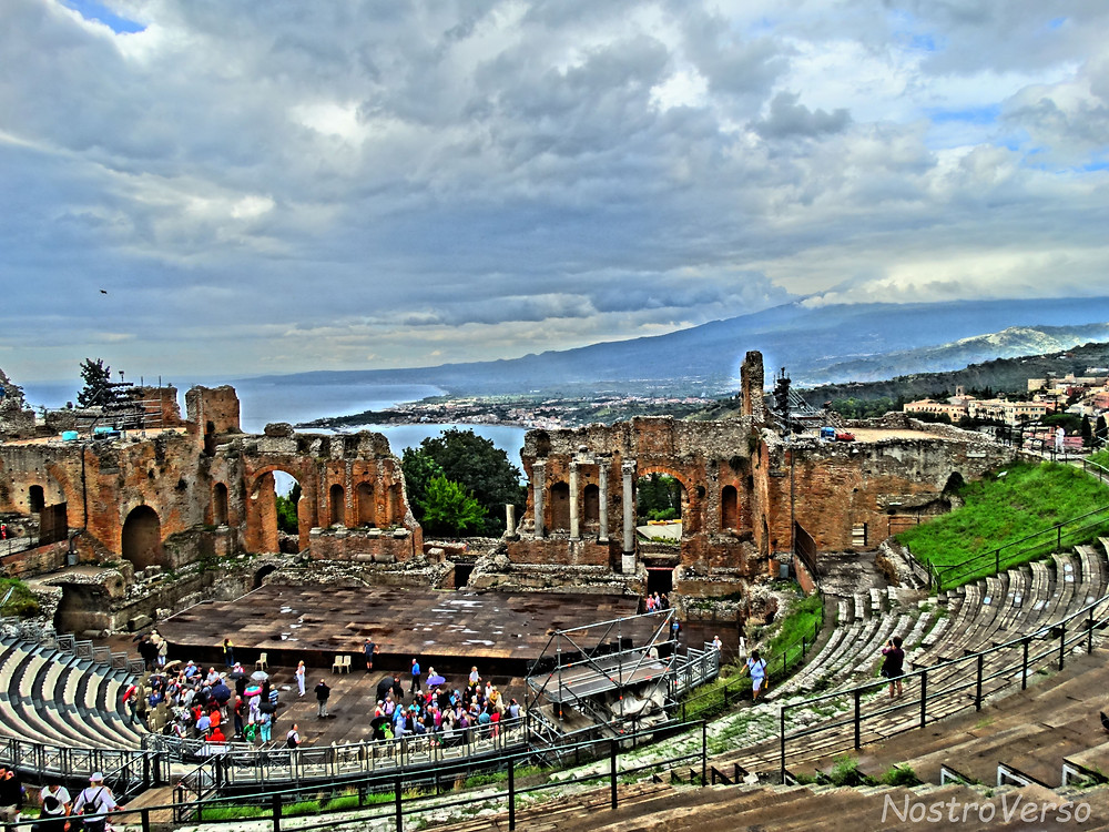 Teatro Greco em Taormina