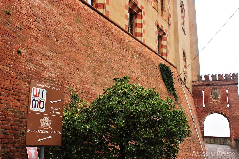 Castelo e Museu do Vinho em Barolo