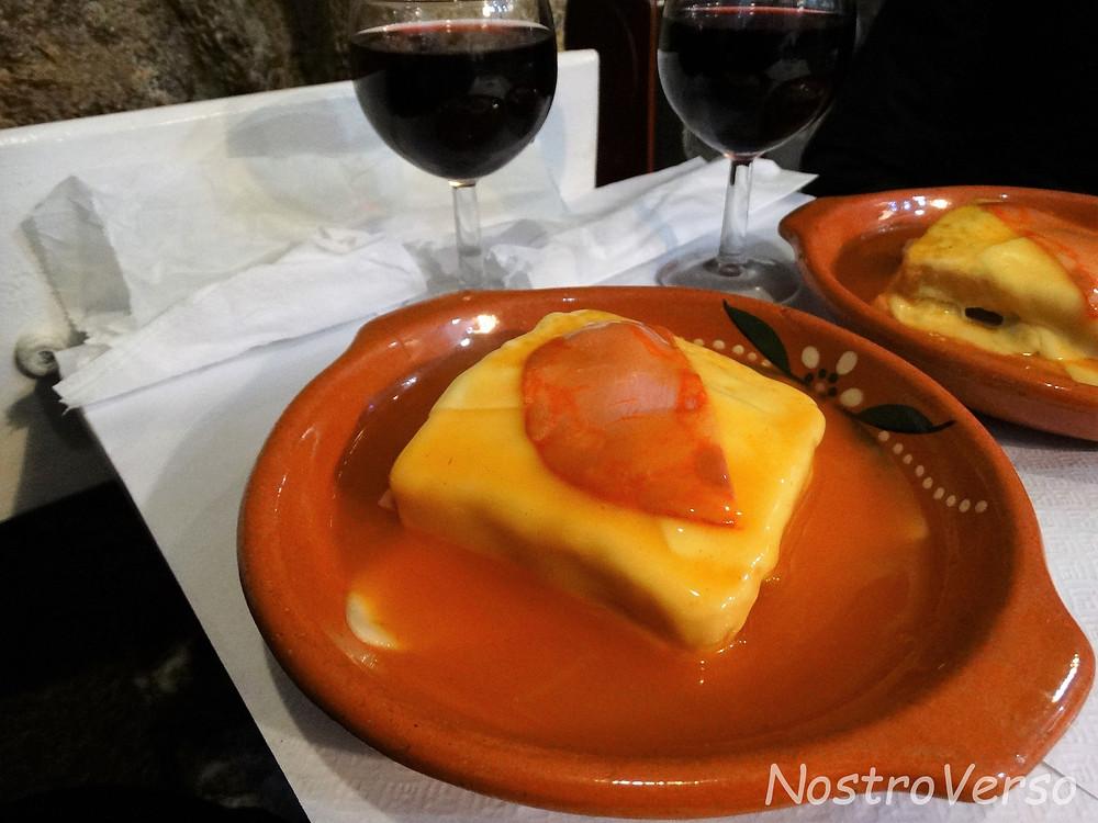 Francesinha - prato de Porto