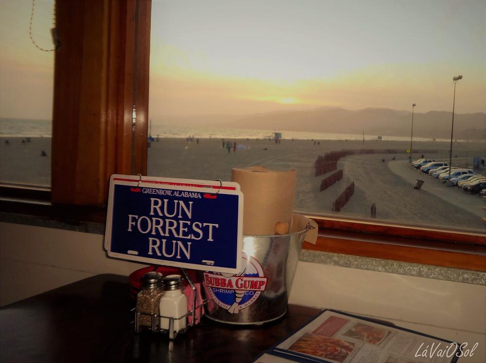 Restaurante Bubba Gump - Santa Monica - Califórnia