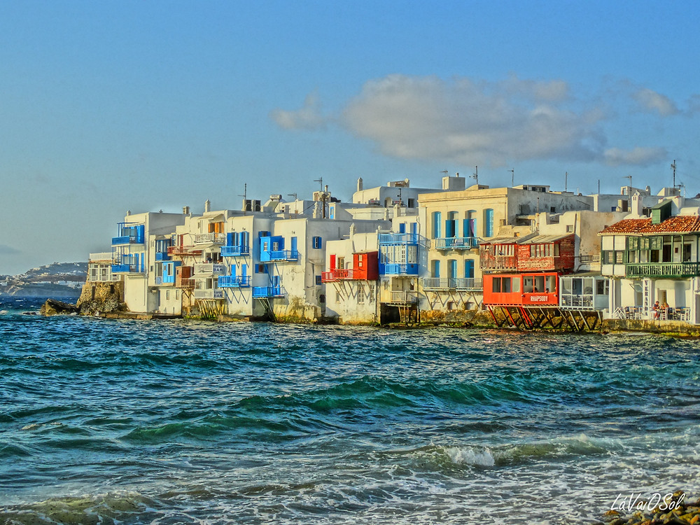 Little Venice - Míconos - Grécia