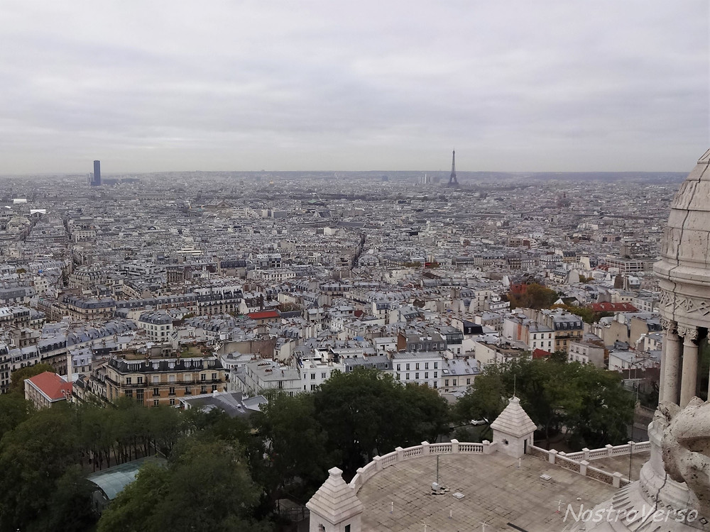 Paris vista da cúpula da Sacré-Coeur
