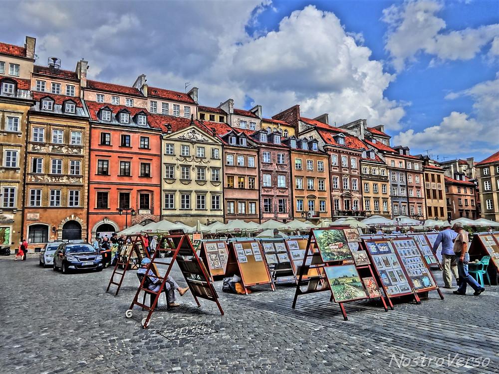 Centro histórico de Varsóvia - Polônia