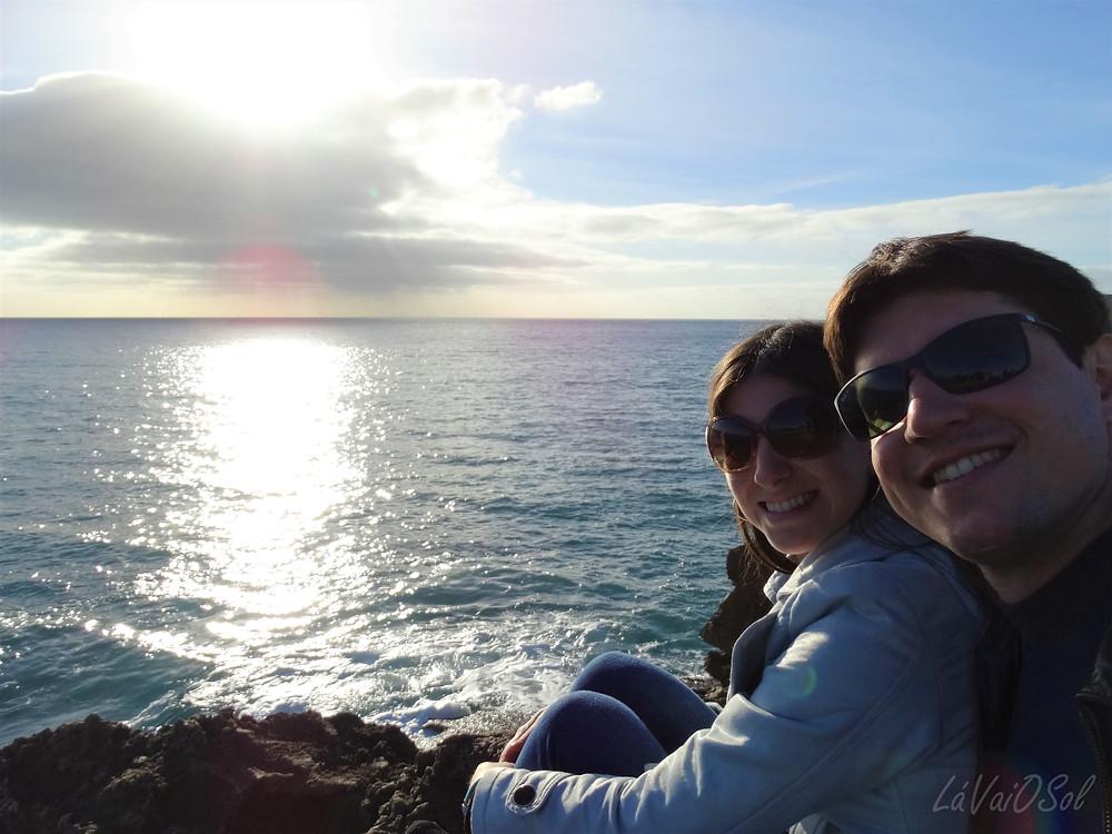 Pôr-do-sol em Cascais