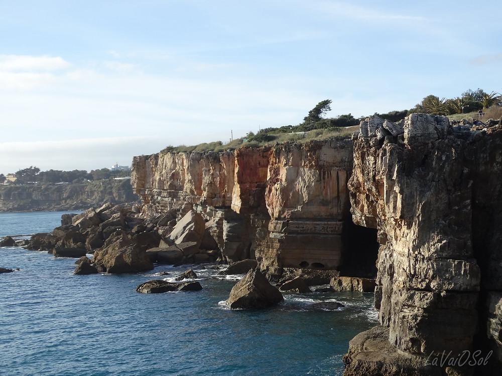 Falésias na Boca do Inferno - Cascais - Portugal