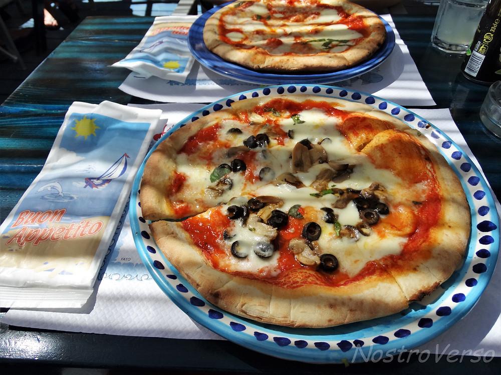 Pizza em Positano