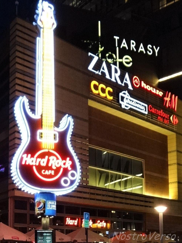 Hard Rock Cafe em Varsóvia