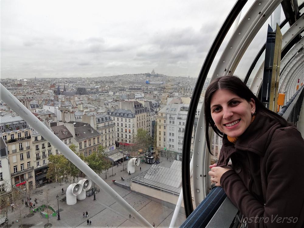 Vista do Centre Georges Pompidou em Paris