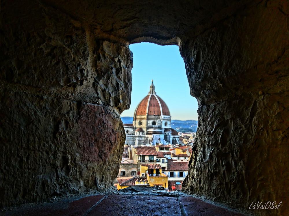 Duomo visto do Palazzo Vecchio