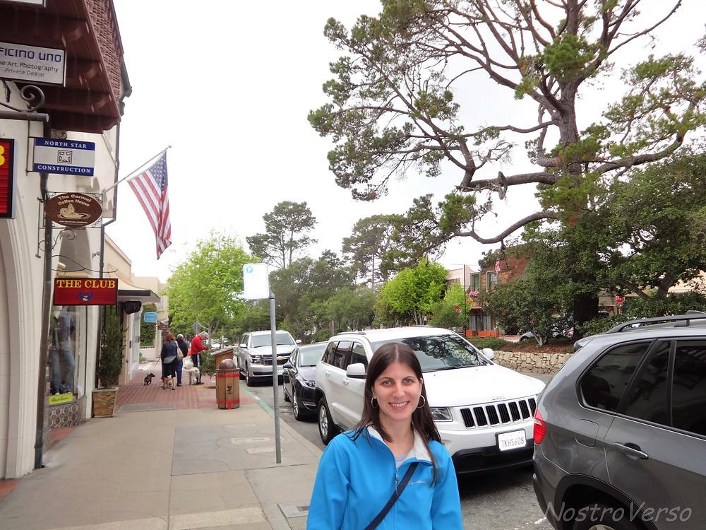Lojas e restaurantes em Carmel-by-the-sea