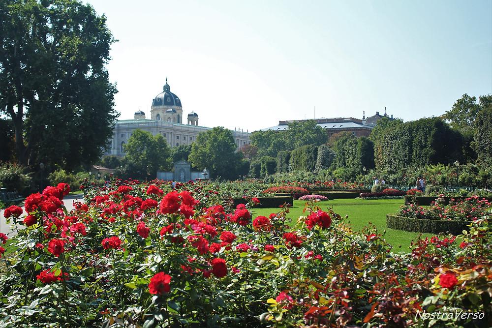 Volksgarten - Jardim do Povo em Viena