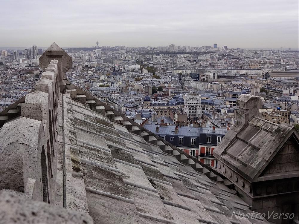 Sobre os telhados de Paris